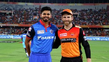 Shreyas Iyer and Kane Williamson
