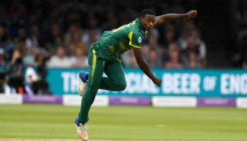 Kagiso Rabada hat-trick on ODI debut