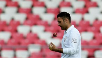 Mohammad Nabi in Test cricket