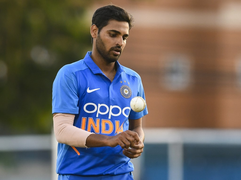 Bhuvneshwar Kumar shares an injury update before England series