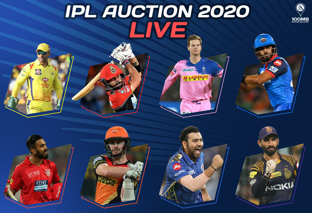 Ipl 2020 Auction Live Australian Cricketers And India S U 19 Stars Have A Field Day