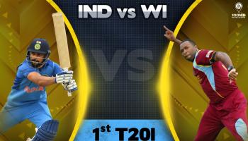 India West Indies 1st T20I