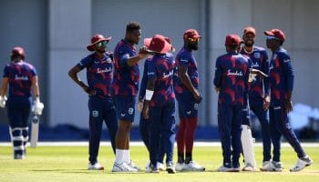 West Indies warm-up