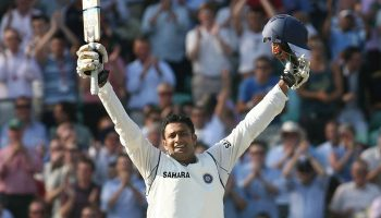 Anil Kumble batting