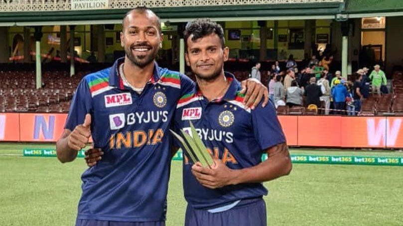 AUS vs IND: Hardik Pandya dedicates his Man of the Series award to T  Natarajan